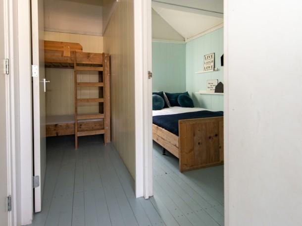 Strandhaus Strandhäuser bungalow Schlafzimmer camping geversduin holland