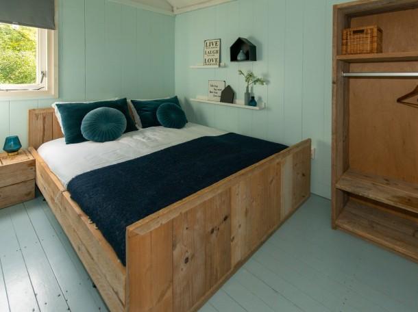 Strandhaus Strandhäuser doppelbett inneneinrichtung camping geversduin holland