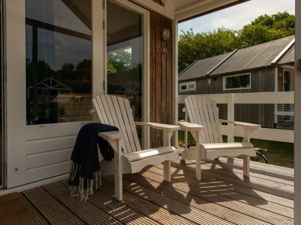 Strandhaus Strandhäuser veranda terasse bungalow camping geversduin holland