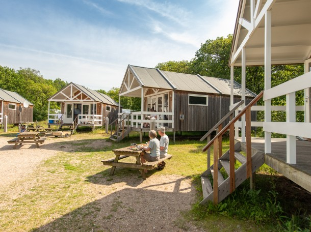 starndhaus strandhäuser bungalow dünen camping geversduin holland