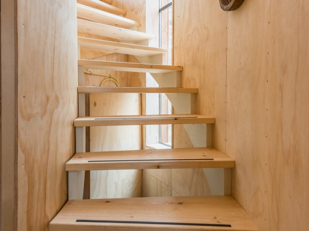 Baumhaus Treppe