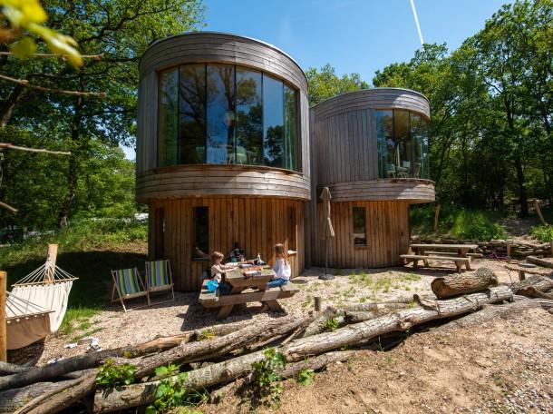 baumhäuser unterkünfte camping geversduin holland