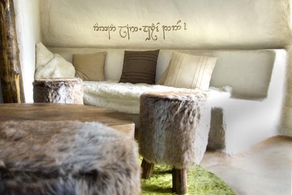 Hobbithaus Wohnzimmer