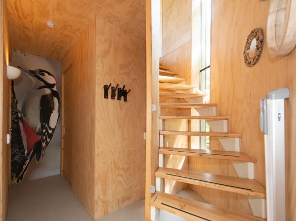 baumhaus innenansicht unterkunft camping geversduin holland