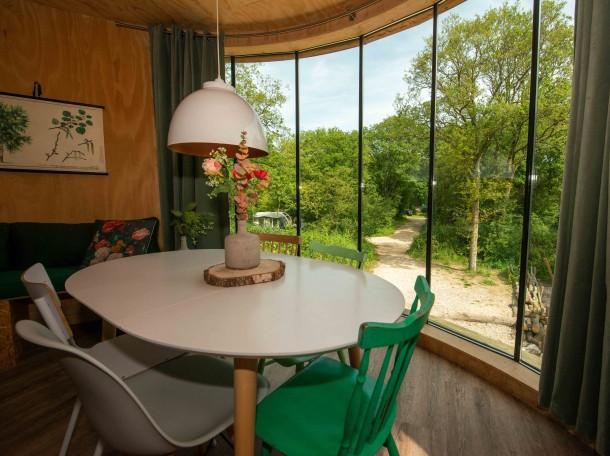 baumhaus inneneinrichtung unterkunft camping geversduin holland