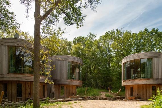 Baumhäuser von außen