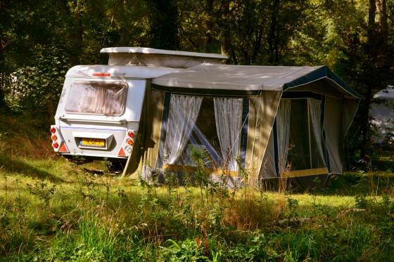 wohnwagen Zelt Campingplatz Camping Geversduin Holland