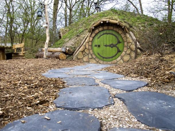 Hobbithaus eingang