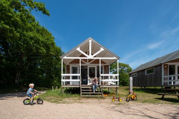 Strandhaus Fahrrad Kind