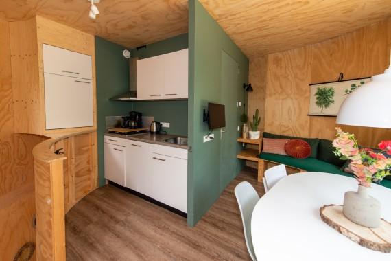 Baumhaus Küche