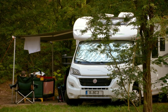 fiat wohnmobil camping geversduin campingplatz holland