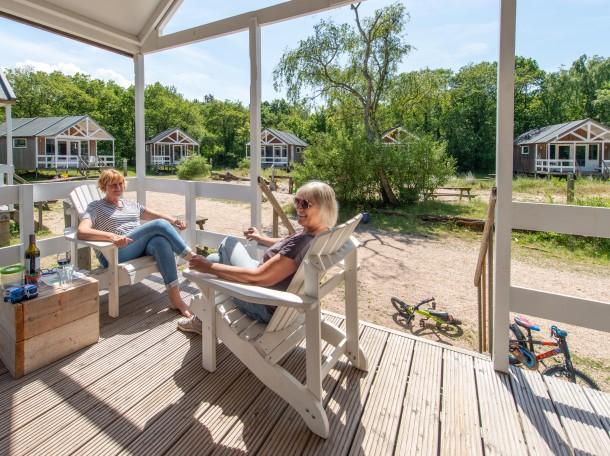 Strandhaus Strandhäuser terrasse veranda camping geversduin holland